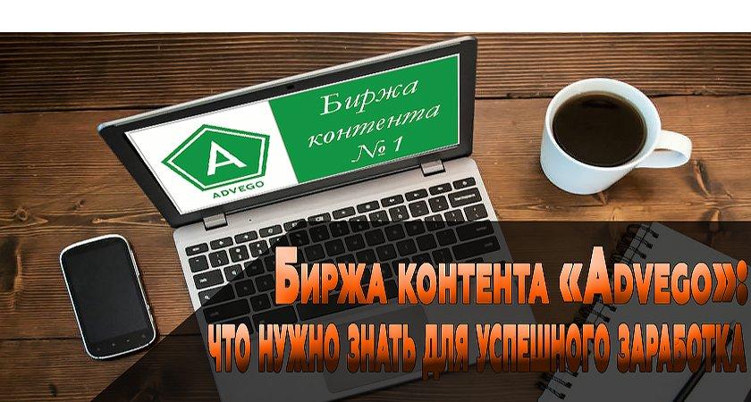 Биржа контента «Advego»: что нужно знать для успешного заработка