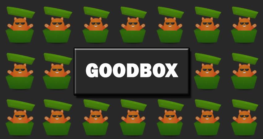 GOODBOX. Интернет магазин коробок сюрпризов