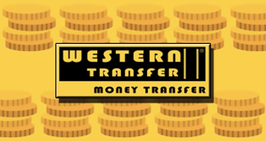 Western Transfer (Money Transfer). Денежный перевод от Вестерн Трансфер